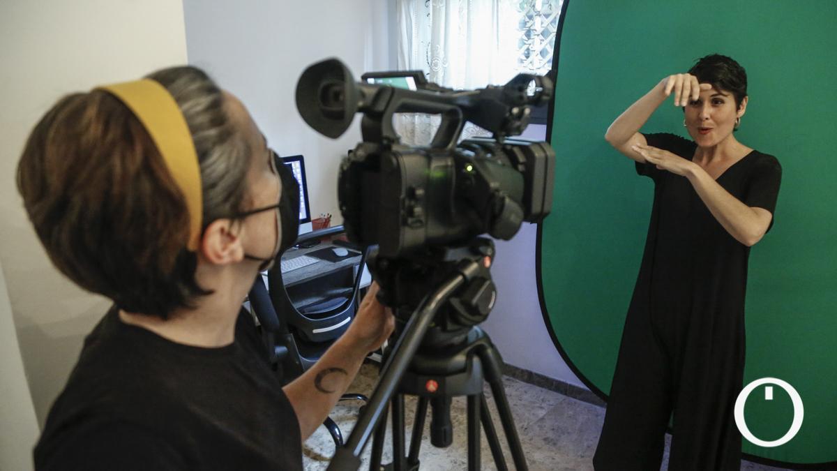 La asociación sin ánimo de lucro SigMedia crea contenidos audiovisuales con lengua de signos.