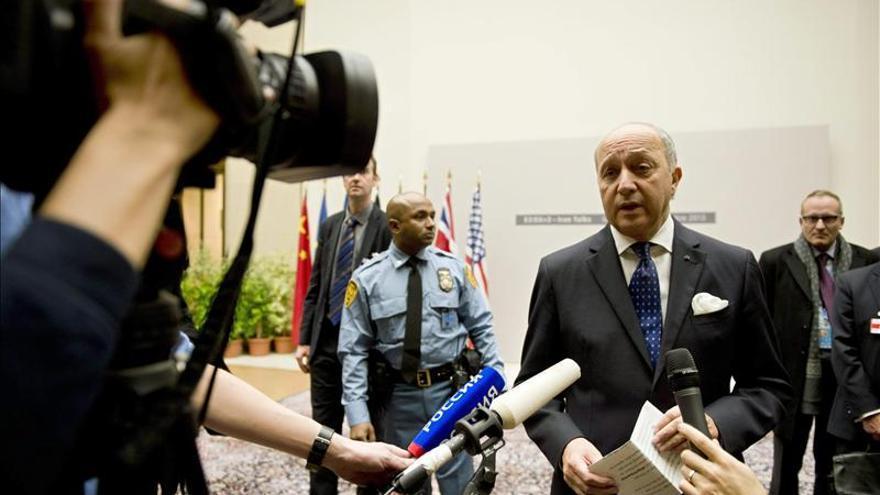 """Francia cree que el acuerdo con Irán es """"un avance"""" que """"puede ser histórico"""""""