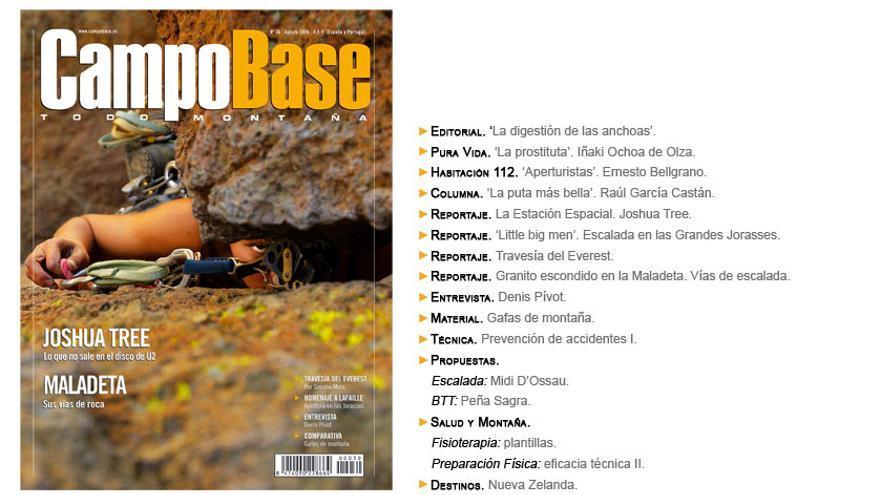 Campobase Nro 30. Agosto 2006