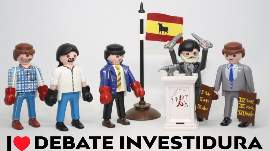 I love debate investidura