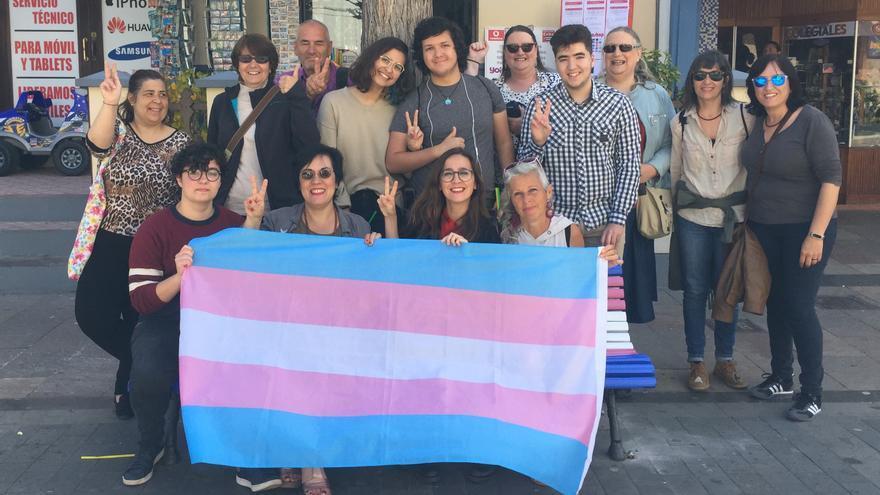 Miembros del Colectivo Violetas.