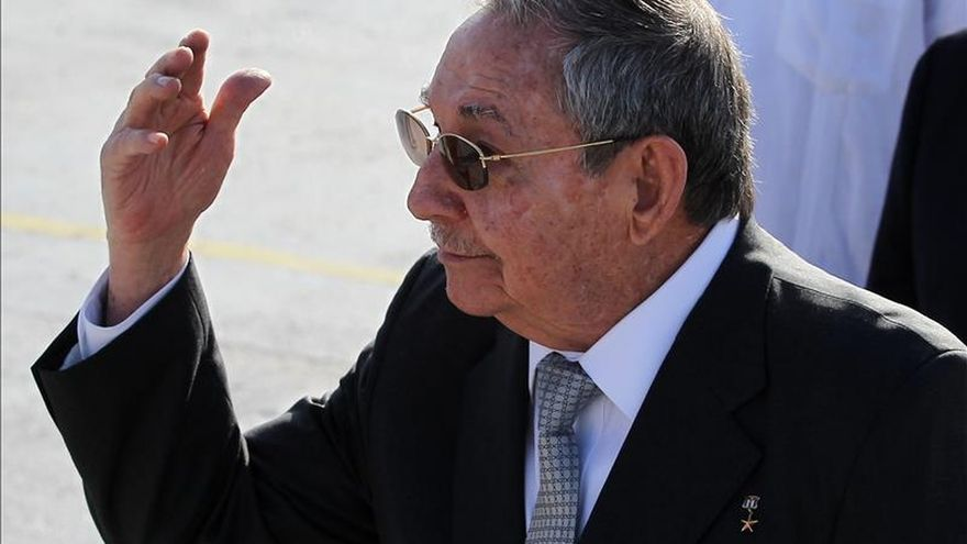 """Raúl Castro afirma que la negociación entre Cuba y EE.UU. """"va bien"""""""