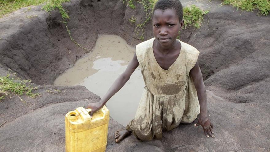 Cada noche en el mundo, 300 millones de niños y niñas se van a la cama con hambre. Foto: James Akena / ActionAid