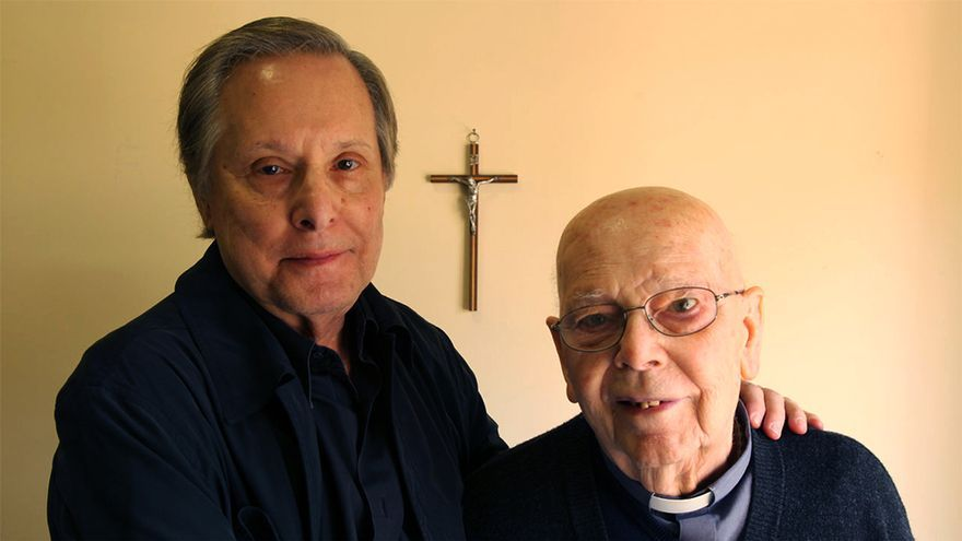 William Friedkin y el padre Gabriele Amorth