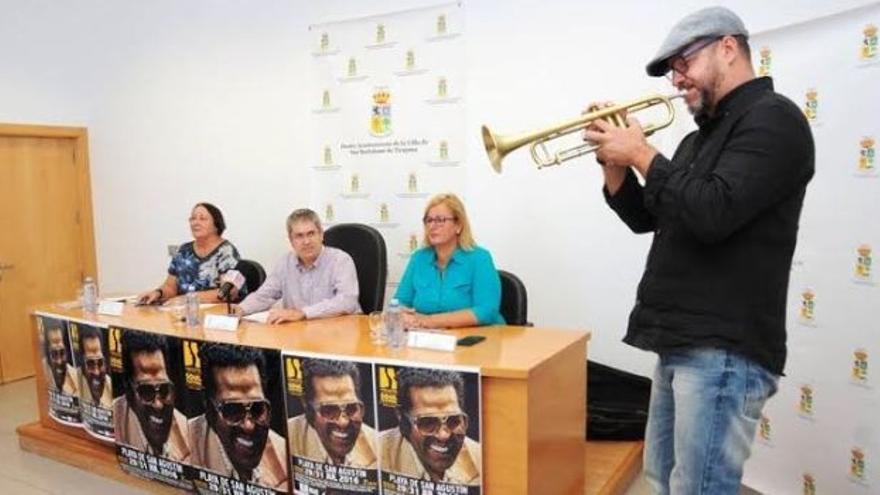 El cantante Boby Rush, cabeza de cartel del II Maspalomas Costa Canaria Soul Festival