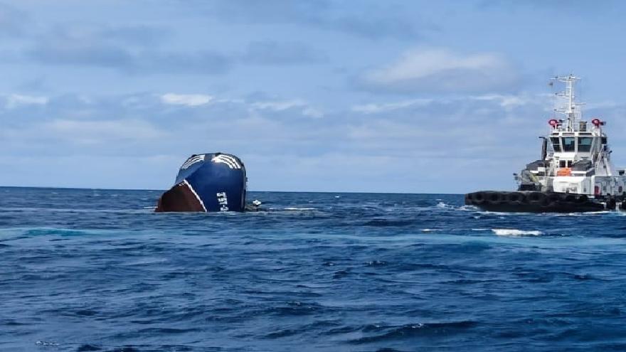 Barco hundido frente a Armintza