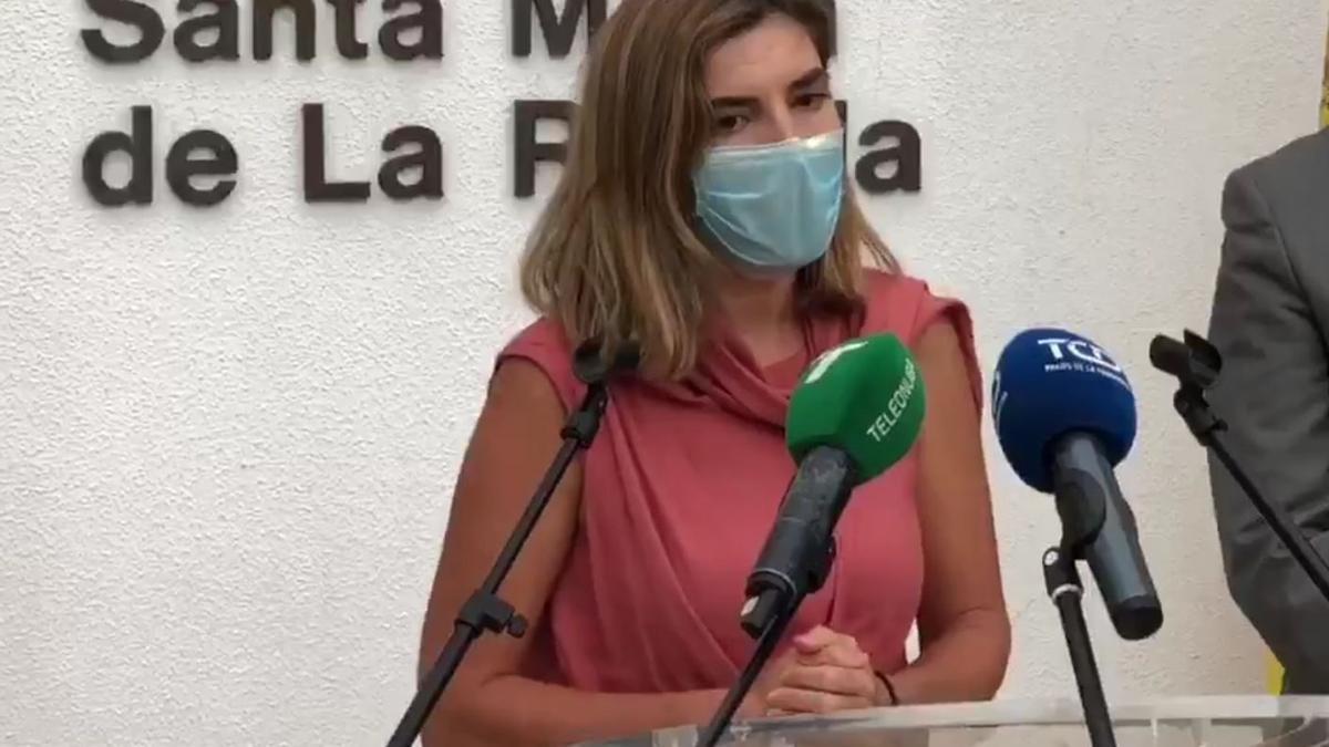La consejera de Empleo, Rocío Blanco.