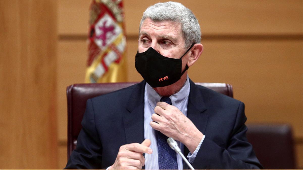 Pérez Tornero, presidente de RTVE, en una imagen de archivo