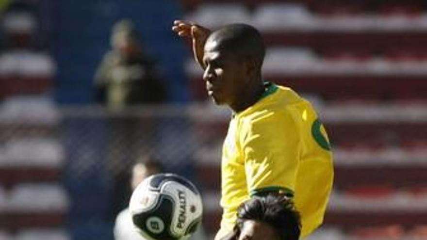 Partido Bolivia contra Brasil