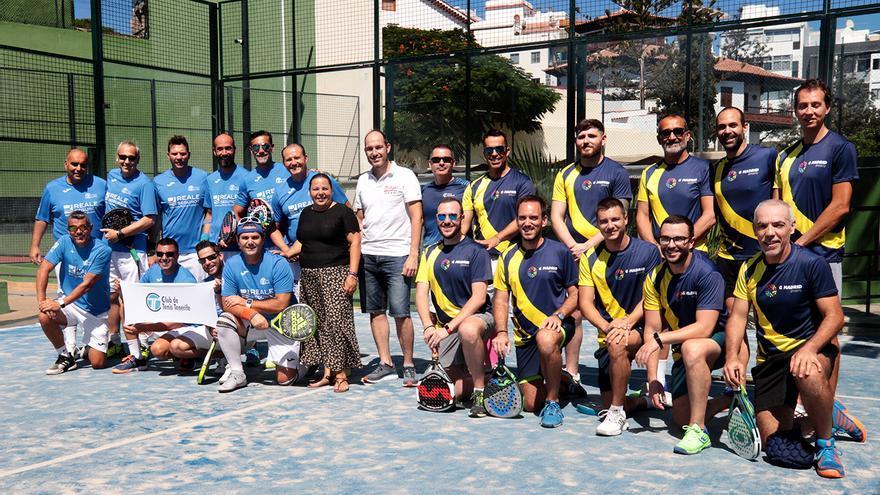 El torneo de pádel contó con la colaboración de la Concejalía de Igualdad, Empleo y Participación Ciudadana del Ayuntamiento de Santa Cruz.