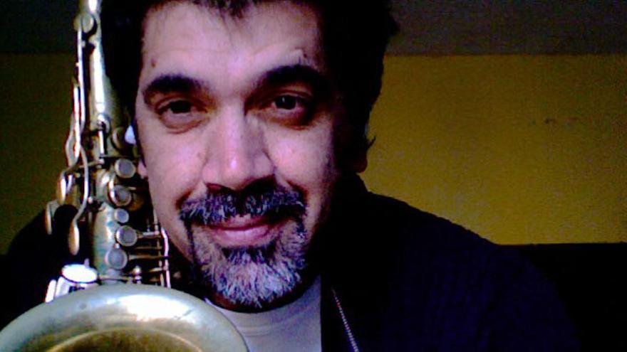 El músico tinerfeño Kike Perdomo.