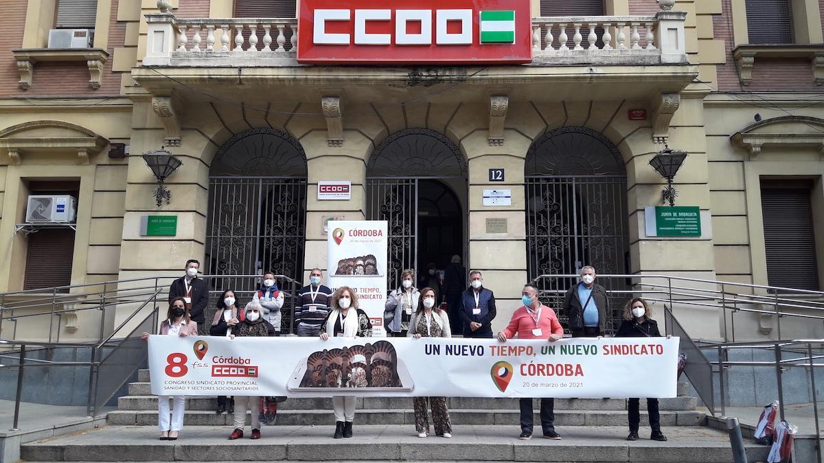 La nueva Comisión Ejecutiva de Sanidad de CCOO Córdoba.