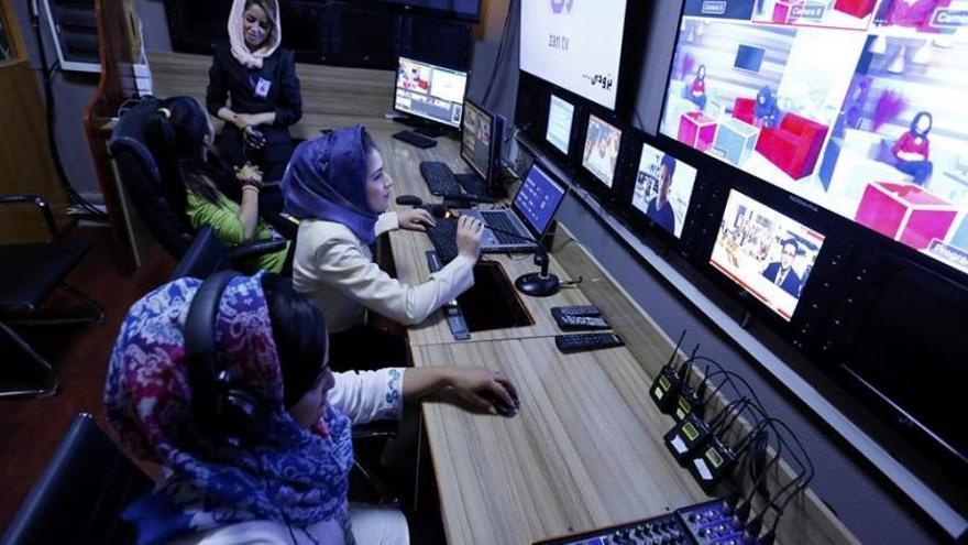 Imagen de la redacción de Zan TV.