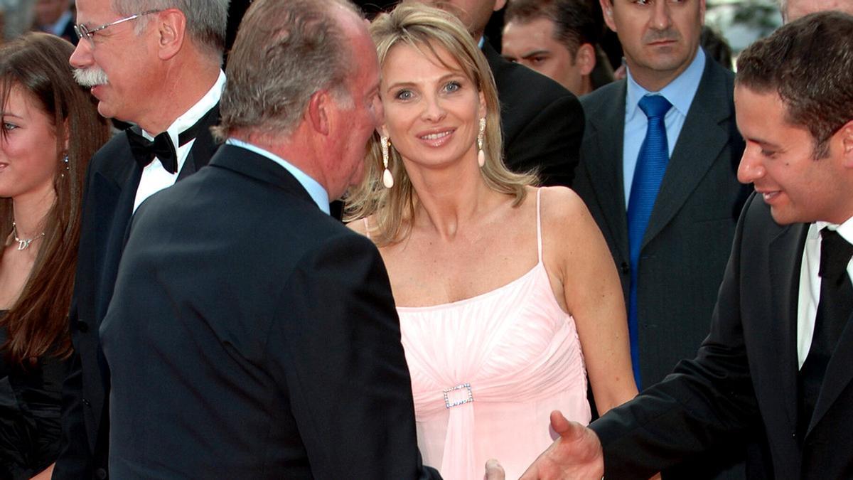 Juan Carlos I y Corinna Larsen, en una fotografía de archivo.