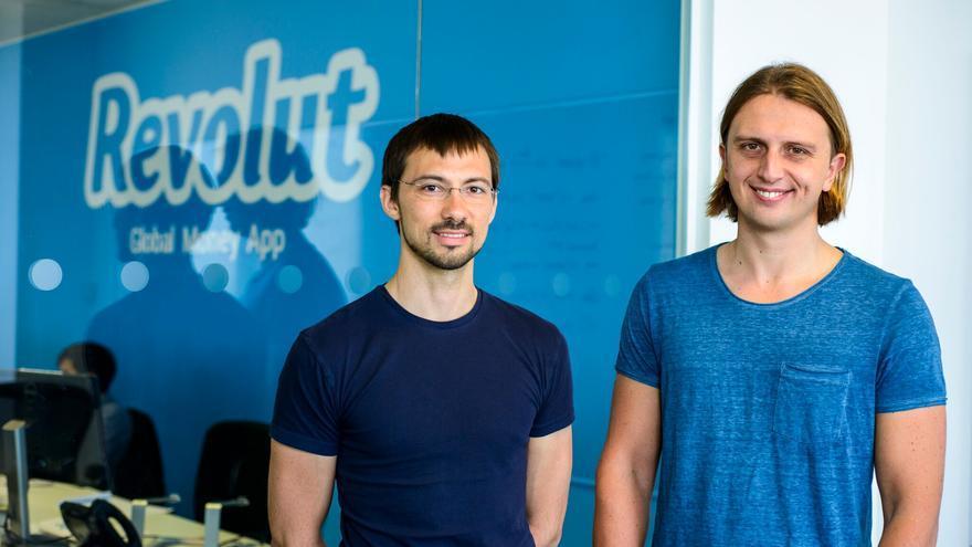 Los fundadores del banco Revolut, Vlad Yatsenko y Nikolay Storonsky.