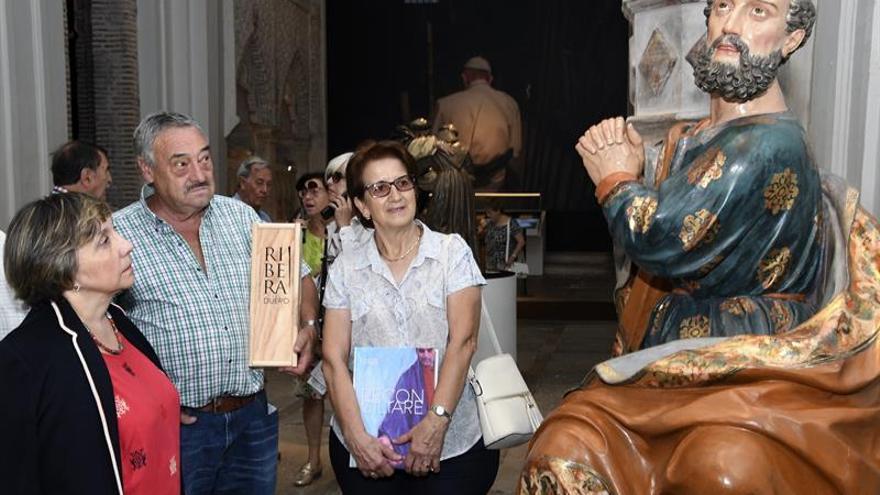 """""""Las Edades del Hombre"""", de Cuéllar (Segovia), alcanza los 100.000 visitantes"""