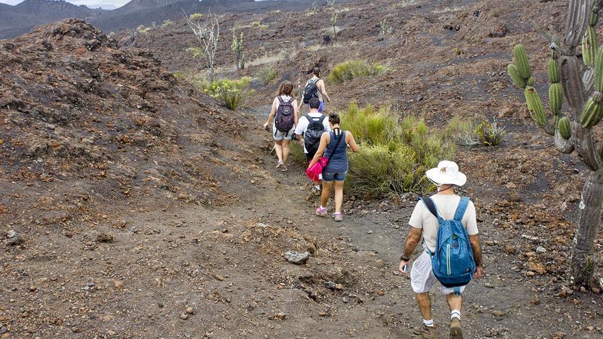 Volcán de Sierra Negra en Isabela.