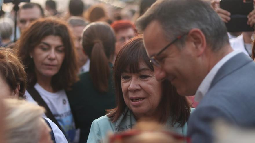 """Narbona asegura que el Gobierno central tiene una """"hoja de ruta clara"""" para la recuperación del Mar Menor"""