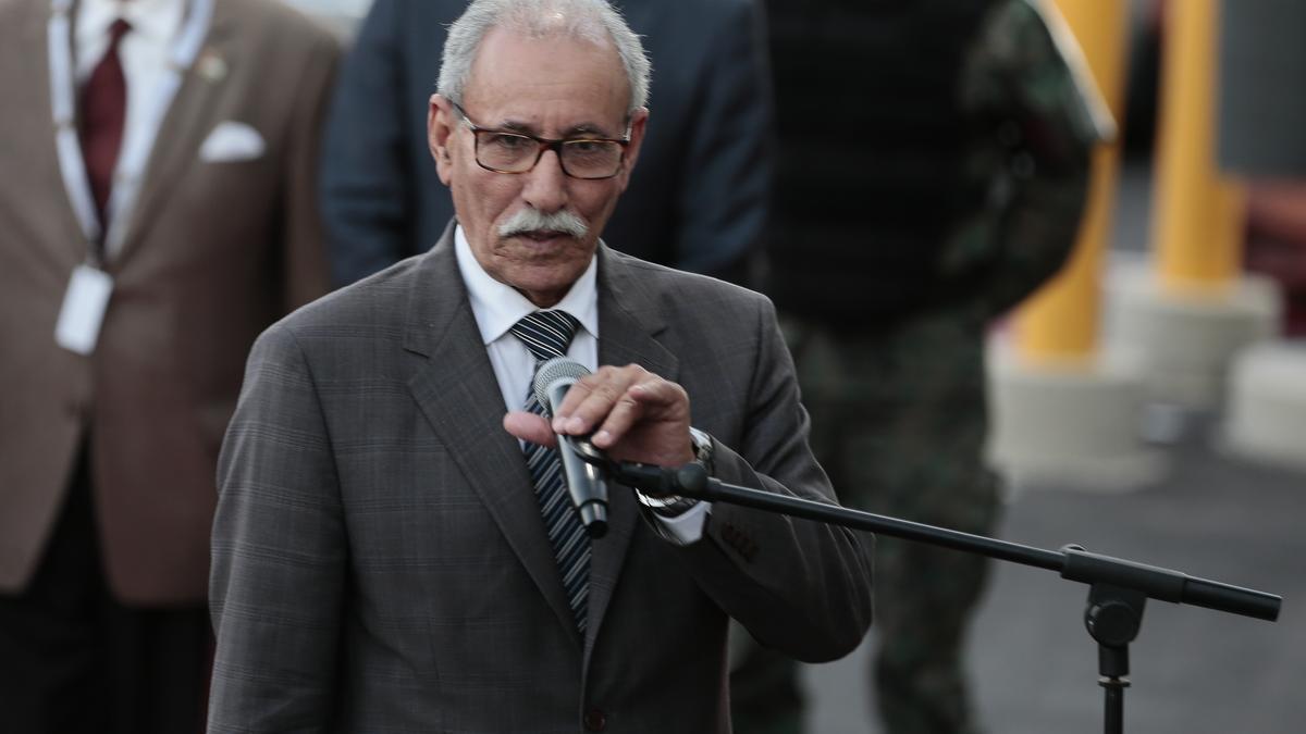 Brahim Ghali, en una fotografía de archivo.