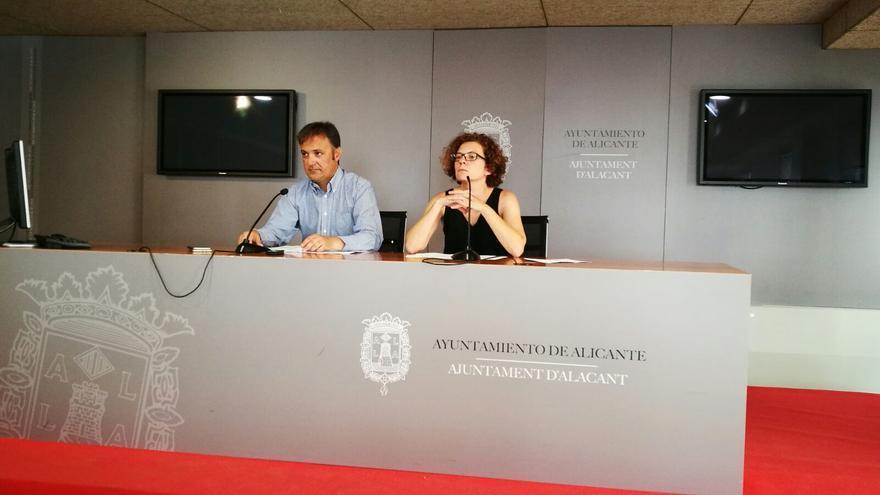 Marisol Moreno, concejal de Juventud en el Ayuntamiento de Alicante