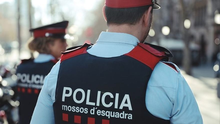 Agentes de los Mossos, en una imagen de archivo.