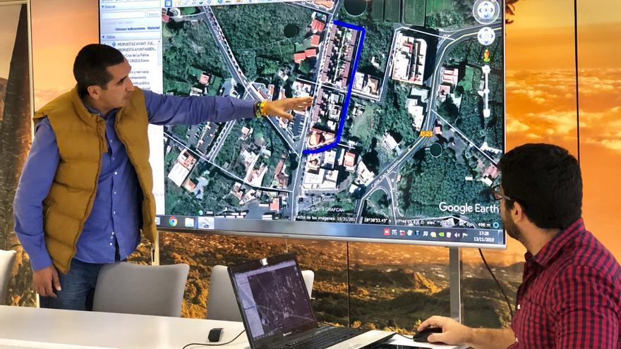 Borja Pérez explica el Plan de Movilidad.