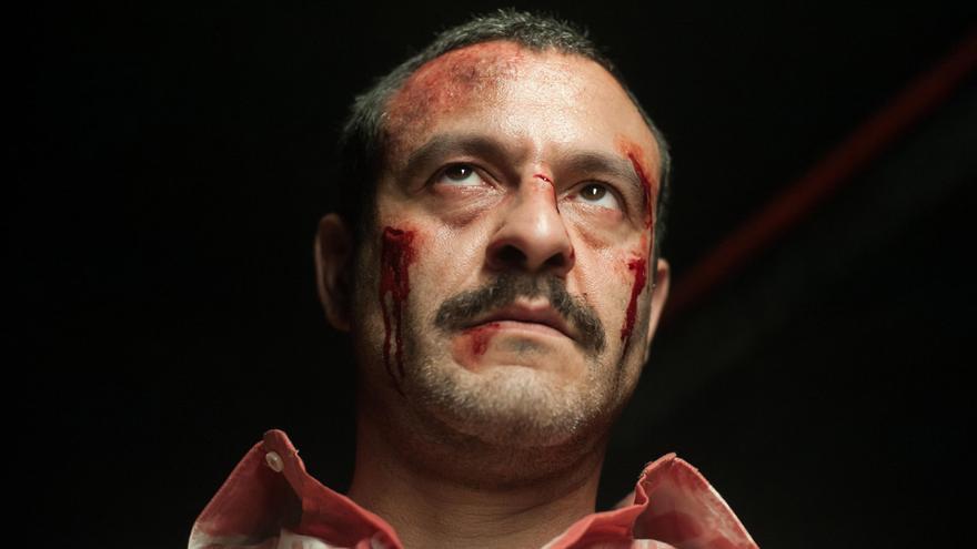 Isak Férriz es Daniel Guerrero en 'Gigantes'.