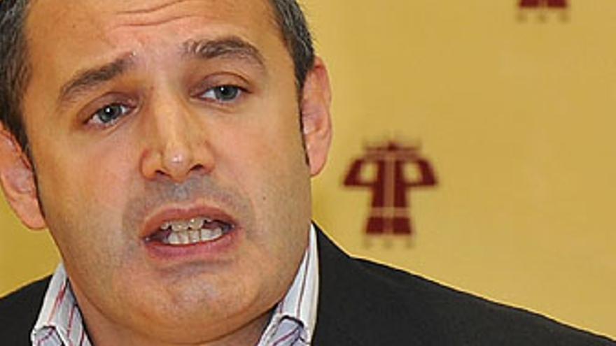José Manuel Corrales, este lunes durante la rueda de prensa. (ACFI PRESS)