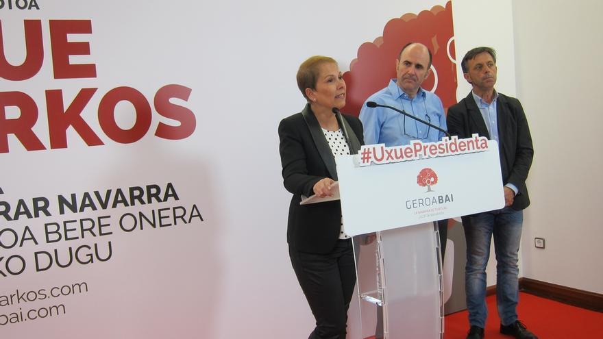 """Barkos dice que si llega al Gobierno colaborará """"hasta las últimas consecuencias"""" para conocer lo ocurrido en CAN"""