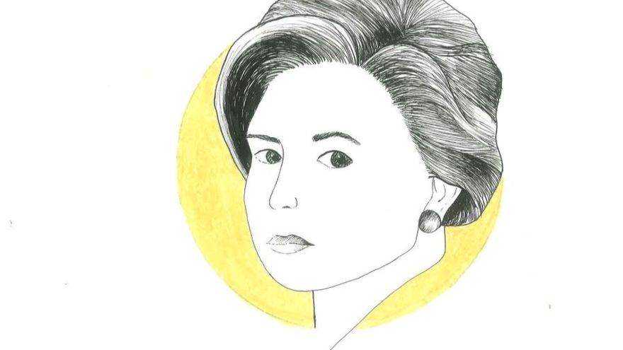 Retrato de Elena Quiroga. | Ana Hoyos