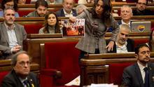 Arrimadas anuncia una querella contra Torra por actos violentos del 21D antes de que se produzcan