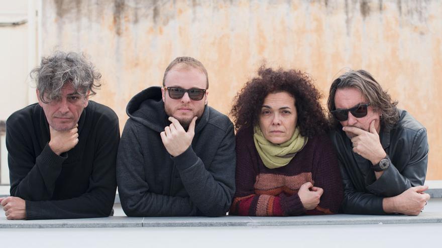 Los músicos que actuarán en Breña Alta.