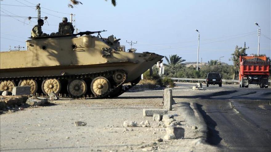 Mueren 7 supuestos extremistas por bombardeos del Ejército egipcio en el Sinaí egipcio