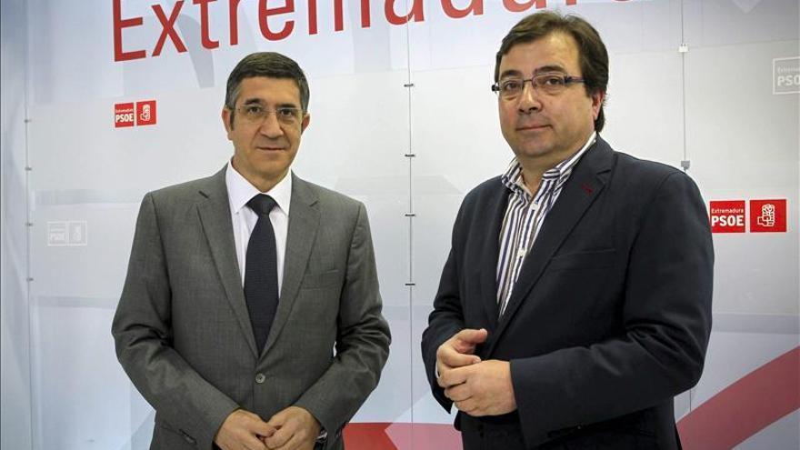 Patxi López y Vara ven una buena noticia que PSC se aparte deriva soberanista