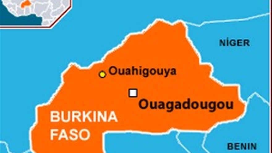 Ouagadougou, capital de Burkina Faso.