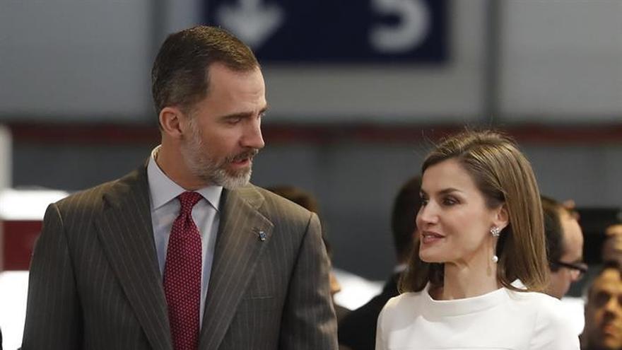 Los Reyes inician hoy su primera visita institucional a Canarias