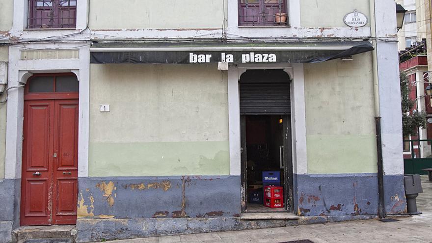 Bar 'La Plaza', en Gijón