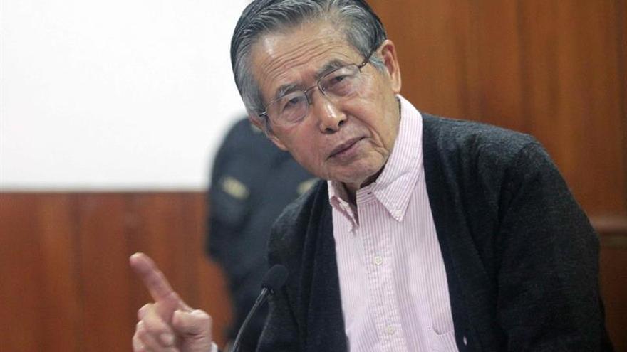 Descartan que el expresidente Fujimori padezca una lesión tumoral en la lengua