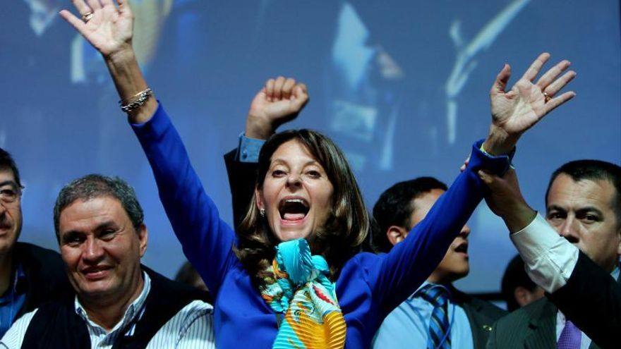 Martha Lucía Ramírez, candidata por los conservadores a la Presidencia de Colombia