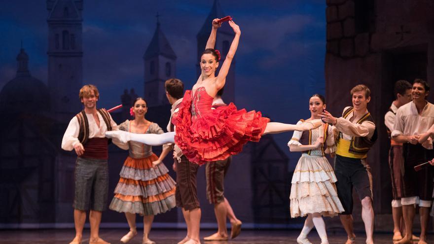 Espectáculo en el que participa la bailarina Cristina Casa.