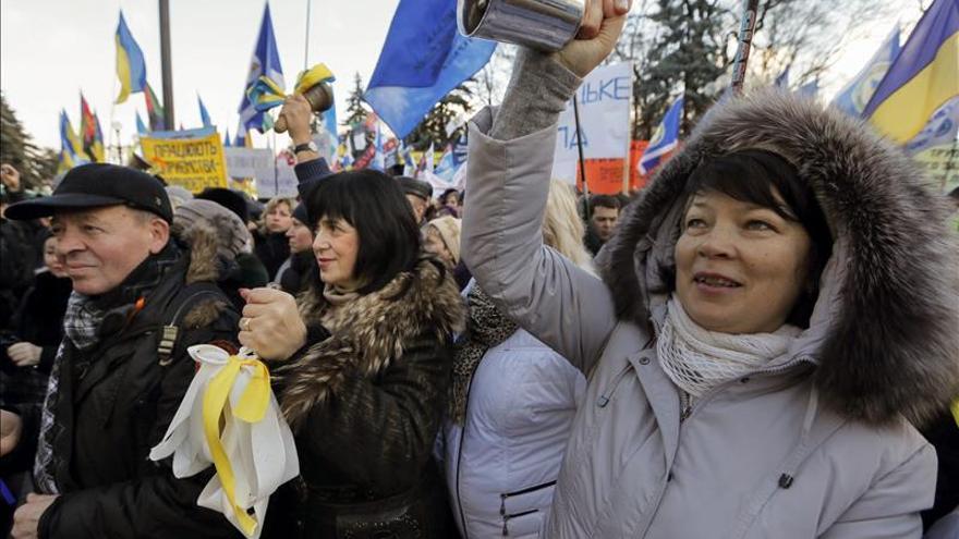 La economía ucraniana cae un 7,5  por ciento en 2014, el peor dato desde II Guerra Mundial
