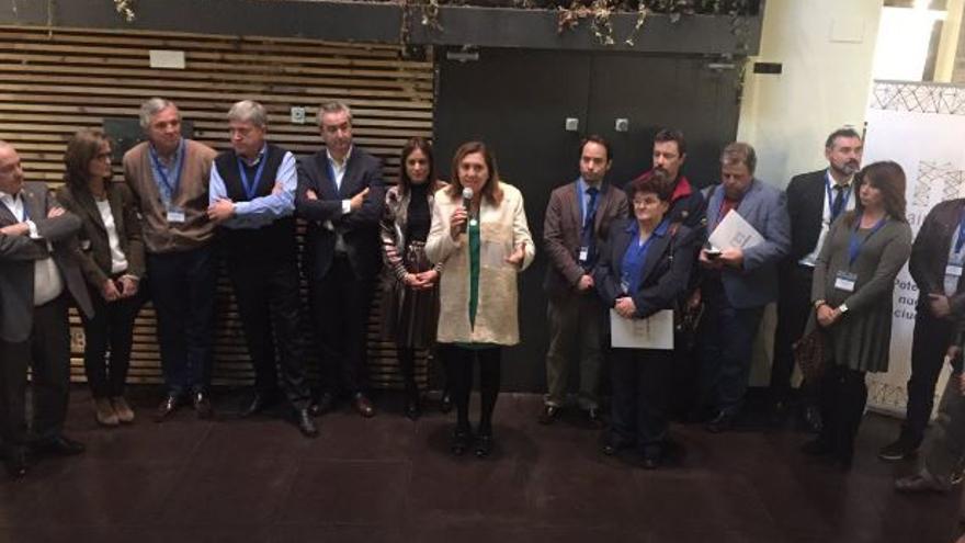 Inauguración del encuentro en el Mercado de San Agustín de Toledo