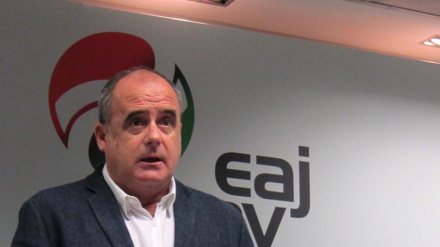 """Egibar dice que la izquierda abertzale no tiene """"un plan para sus presos"""" solo un """"tapa todo, que es acusar al PNV"""""""