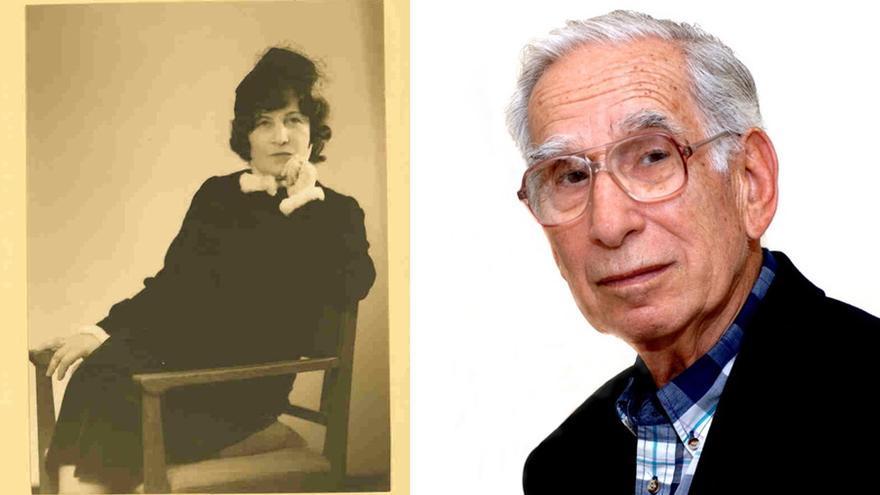 A la izquierda: Lilly Cassirer, nuera de Julius y la abuela de Klaus. A la derecha: Klaus Wolfgang Cassirer, el padre de David