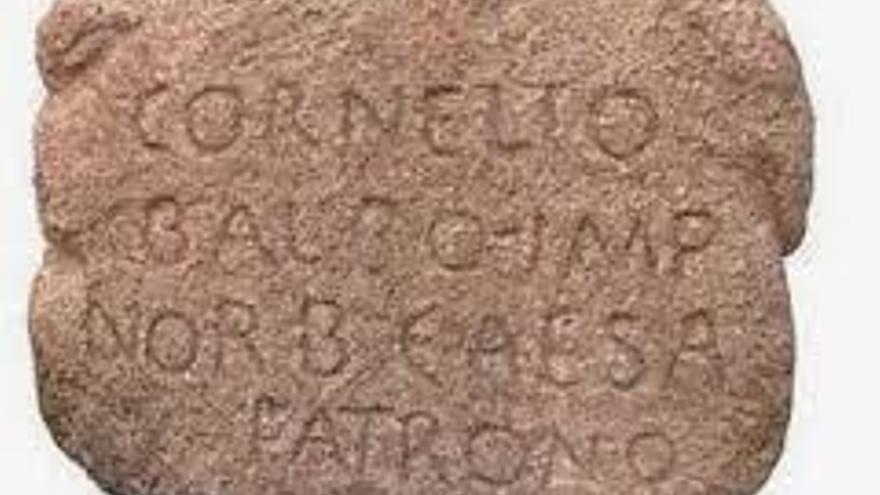 lápida votiva Cáceres