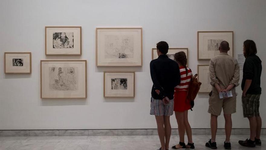 """El Museo Picasso muestra los """"156 grabados"""" hechos de octubre 1968 a marzo 1972"""