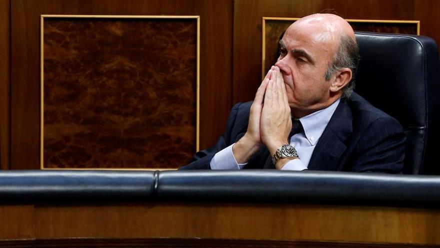 De Guindos explicará al Congreso los presupuestos y el nuevo cargo de Soria