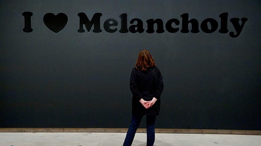 I ♥ Melancholy, 1993-94. Trabajo de Jeremy Deller.