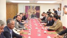Reunión con la Federación Canaria de Municipios.