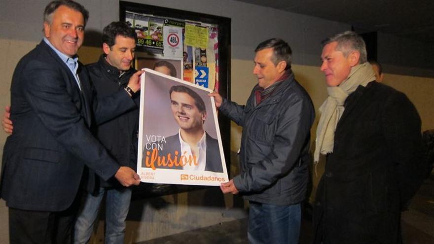 Antonio López y Ramón Molinary en Toledo / EUROPA PRESS